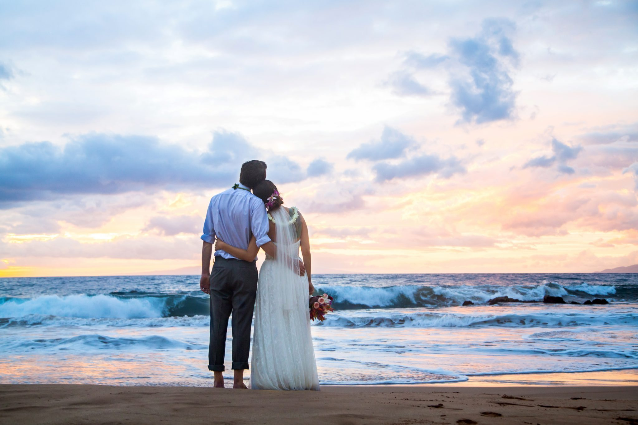 sunset beach weddings_behindthelensmaui