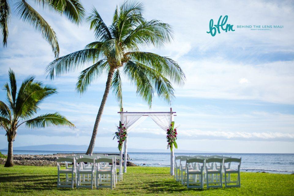 maui beach wedding_001 Behind The Lens Maui