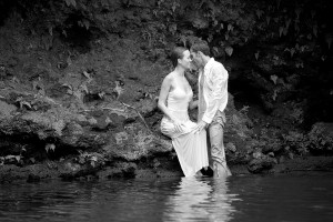 #trash the dress in Maui